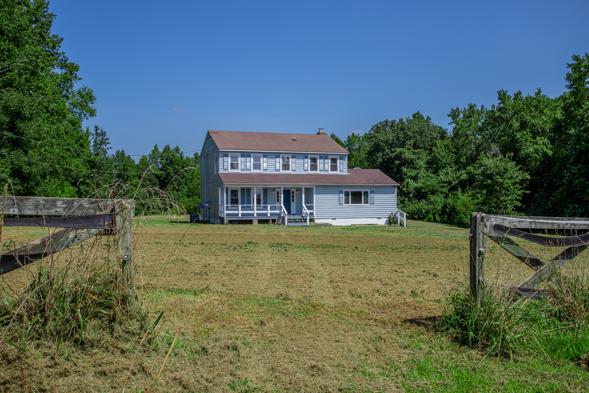 Secluded Country Home with 26 Acres in Wakefield, 681 White Marsh Rd